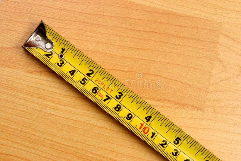 Het meten schaal stock foto