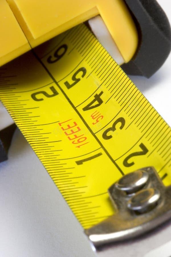 Het meten van Band stock afbeeldingen