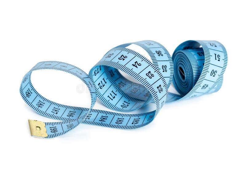 Het meten van band van de kleermaker royalty-vrije stock afbeelding