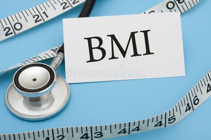 Het meten van Gezondheid stock afbeelding