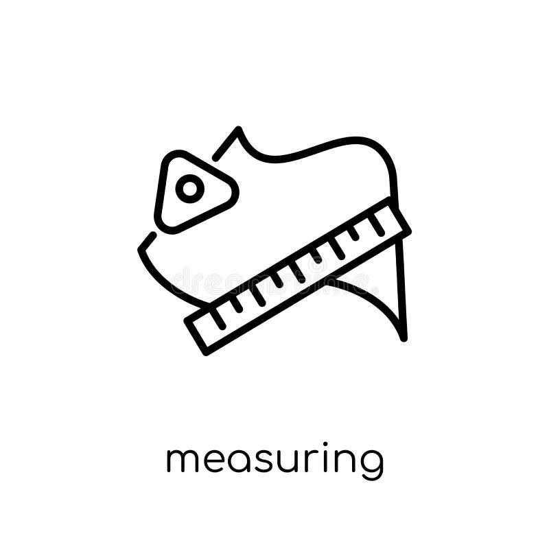 Het meten van pictogram van Sew inzameling vector illustratie