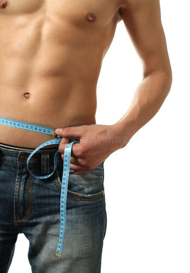 Het meten van Taille stock fotografie