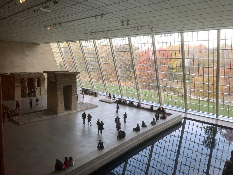 Het Metropolitaanse Museum van Art. stock foto's