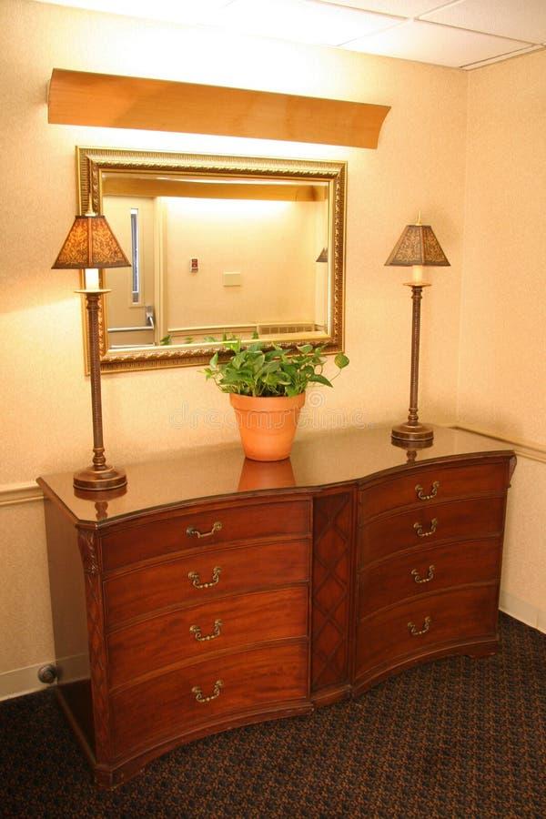 Het Meubilair van het hotel stock foto