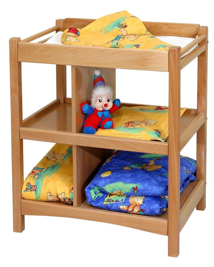 Het meubilair van het kind `s stock foto