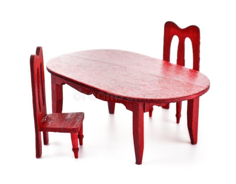 Het meubilair van het stuk speelgoed stock fotografie