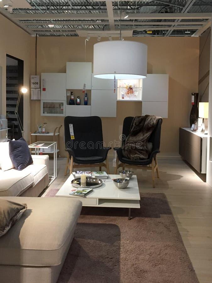 Het meubilair van Nice voor verkoop bij opslag IKEA Amerika royalty-vrije stock foto's