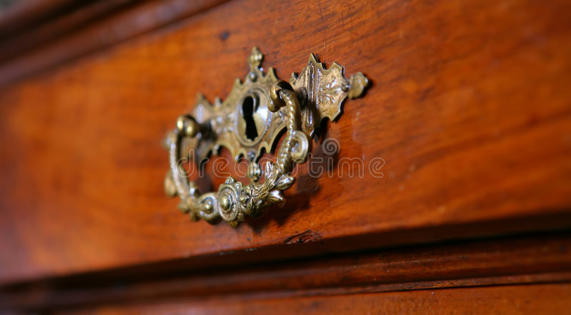 Het meubilair van weleer, Wijnoogst stock afbeelding