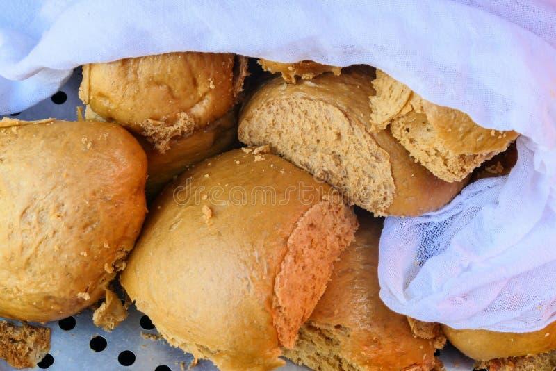 Het Miao-favoriete boekweit van de mensen stoomde brood royalty-vrije stock afbeelding
