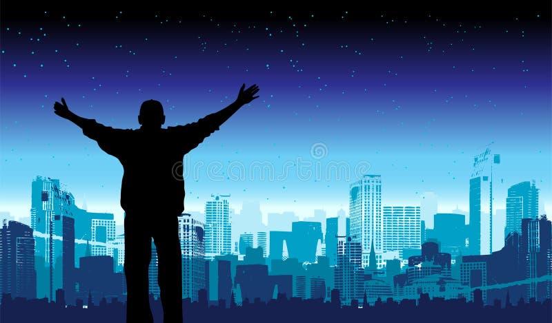 Het is mijn stad, vectorillustratie voor uw ontwerp vector illustratie