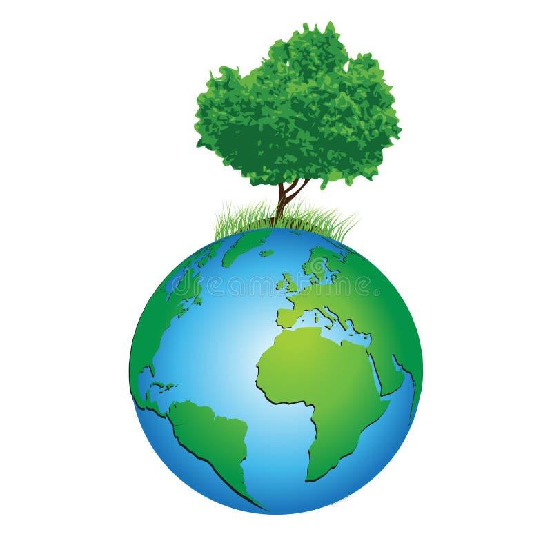 Het Milieu van de wereld vector illustratie