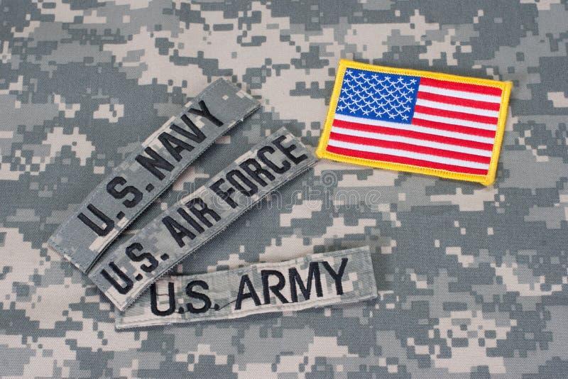 Het militaire concept van de V stock foto's