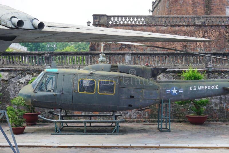 Het Militaire de Geschiedenismuseum van Vietnam royalty-vrije stock foto's