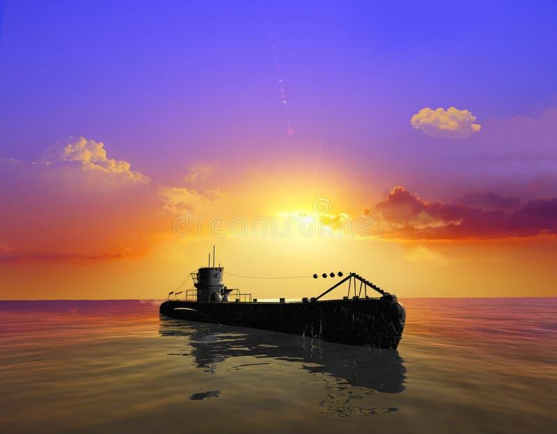 Download Het militaire schip stock illustratie. Illustratie bestaande uit diepte - 10780217
