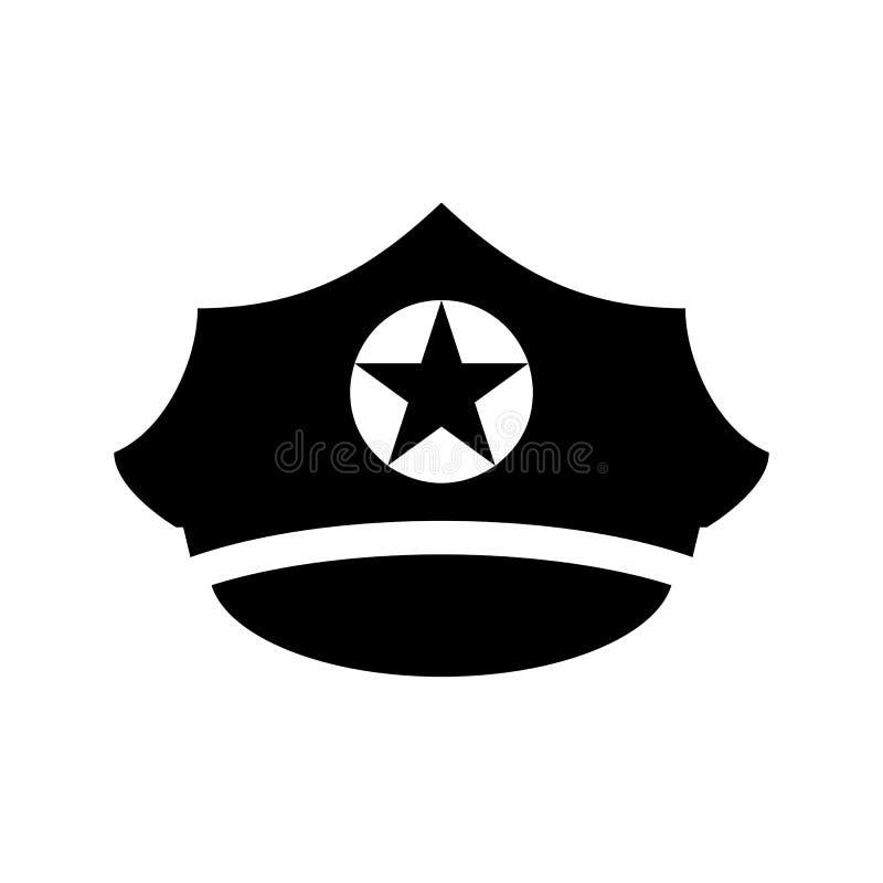 Het militaire unifrom een hoogtepunt bereikte vectorpictogram van GLB vector illustratie