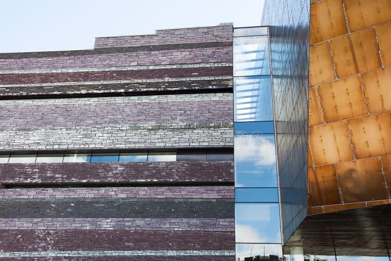 Het Millenniumcentrum van Wales stock afbeeldingen