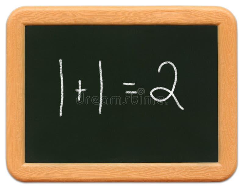 Het MiniBord van het kind - Math stock foto's