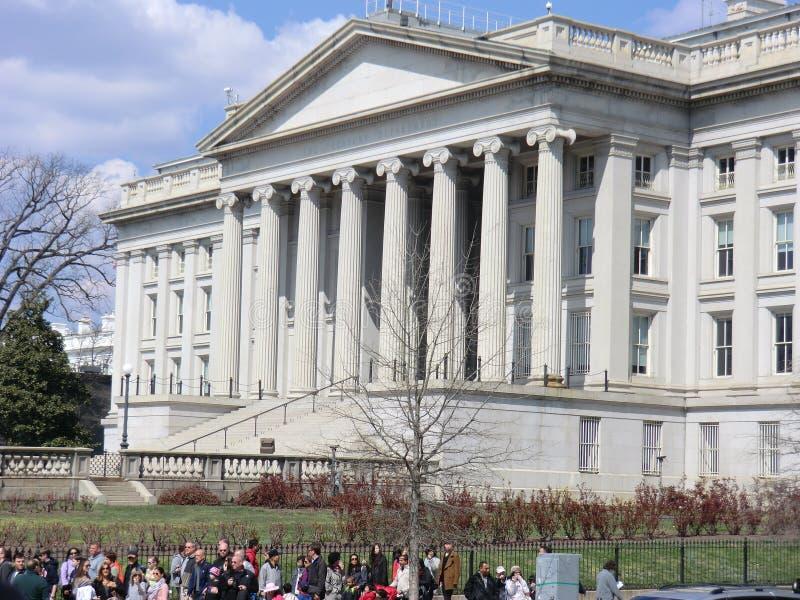 Het Ministerie van de V.S. van de Schatkistbouw royalty-vrije stock fotografie