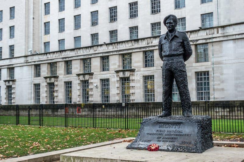 Het Ministerie van Defensie in Londen royalty-vrije stock foto