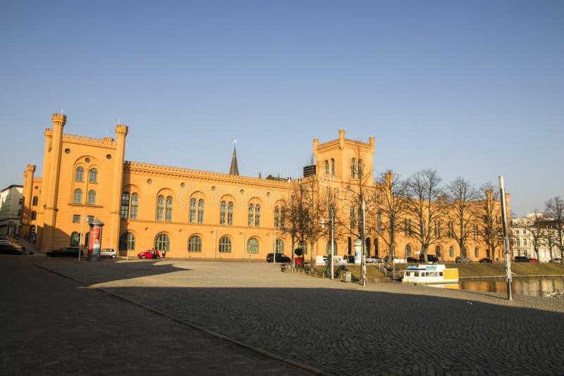 Het Ministerie van Schwerin van Binnenland, Duitsland stock foto's