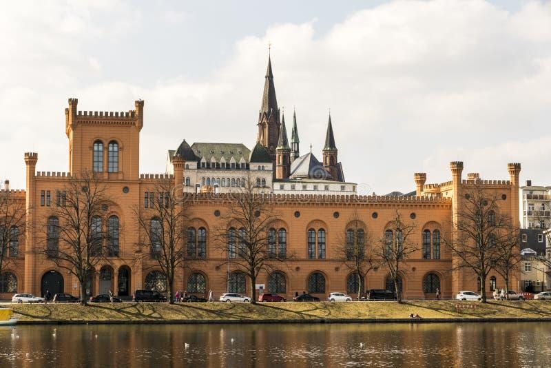 Het Ministerie van Schwerin van Binnenland, Duitsland royalty-vrije stock foto