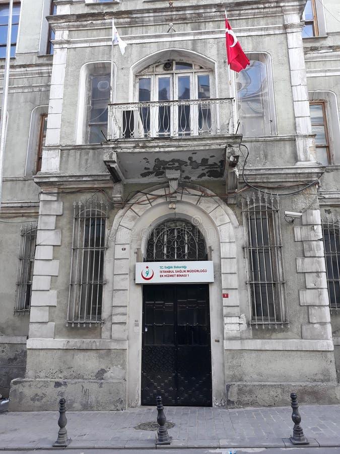 Het Ministerie van volksgezondheid van Istanboel stock afbeelding
