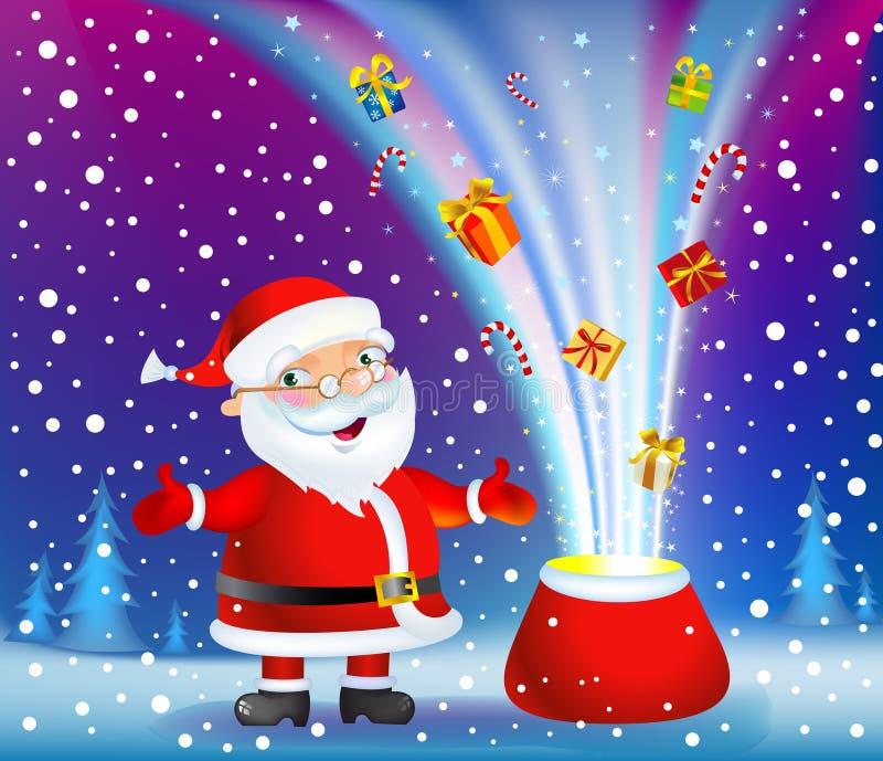 Het Mirakel van Kerstmis royalty-vrije illustratie