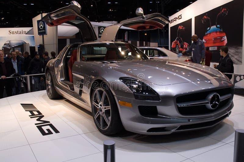 Het model 2010 van Mercedes AMG stock foto