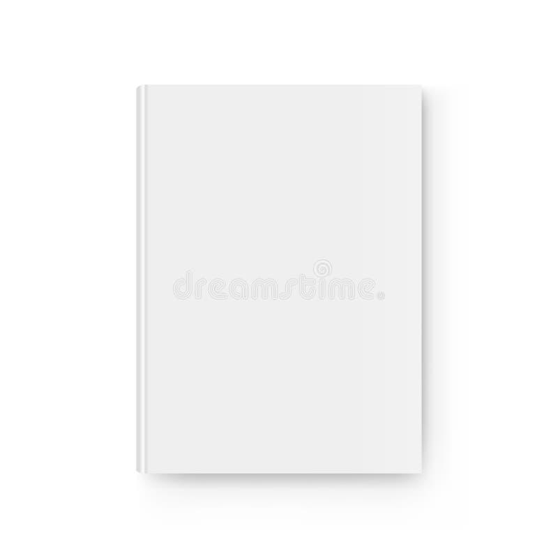 Het model hoogste mening van het Hardcoverboek royalty-vrije illustratie
