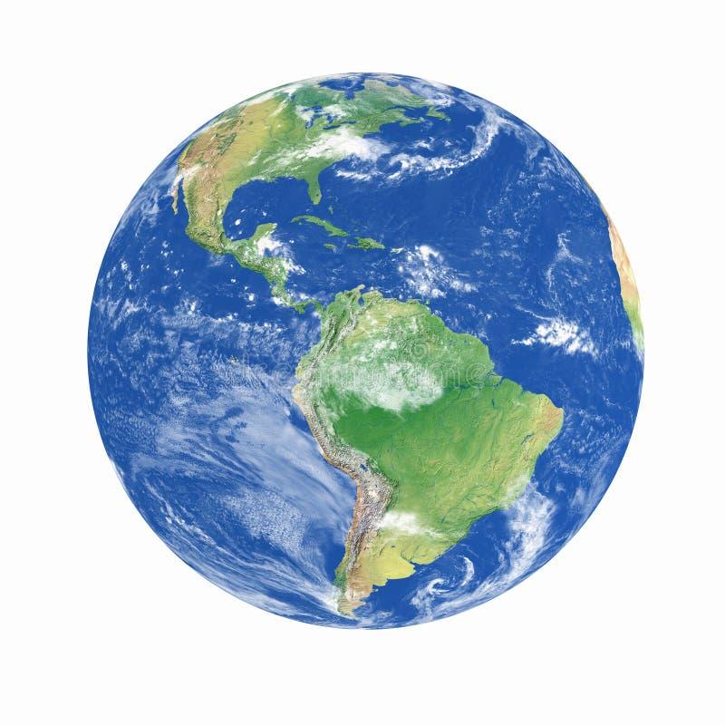 Het model van de aarde royalty-vrije stock foto's