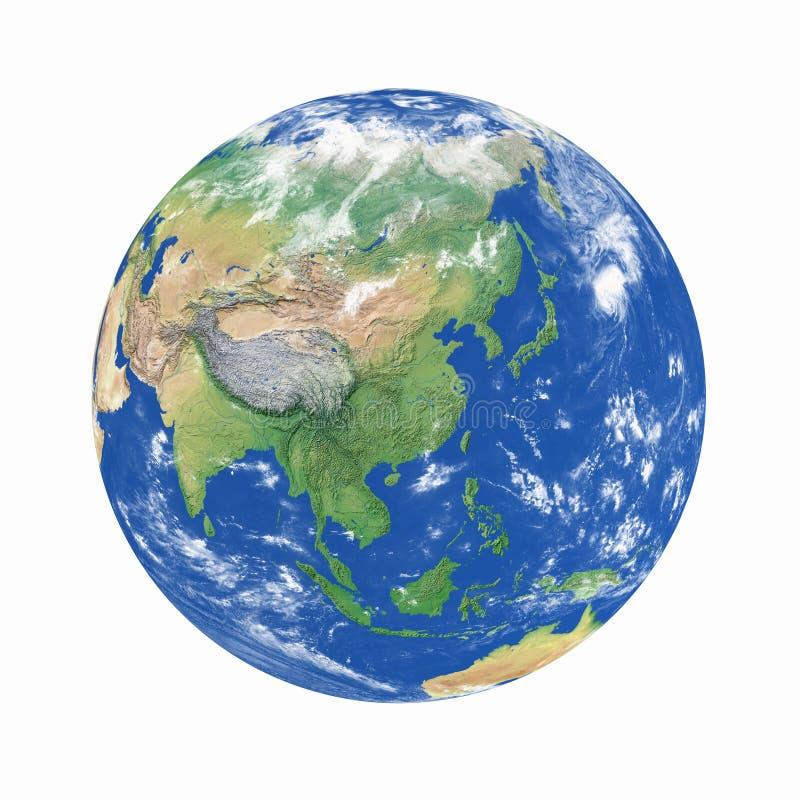 Het model van de aarde royalty-vrije stock afbeelding