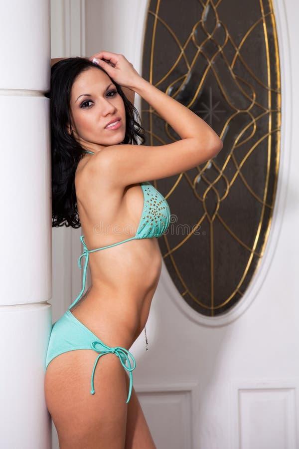Het Model van de bikini royalty-vrije stock afbeeldingen