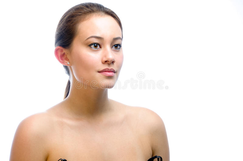 Het Model van de Schoonheid van het meisje royalty-vrije stock foto