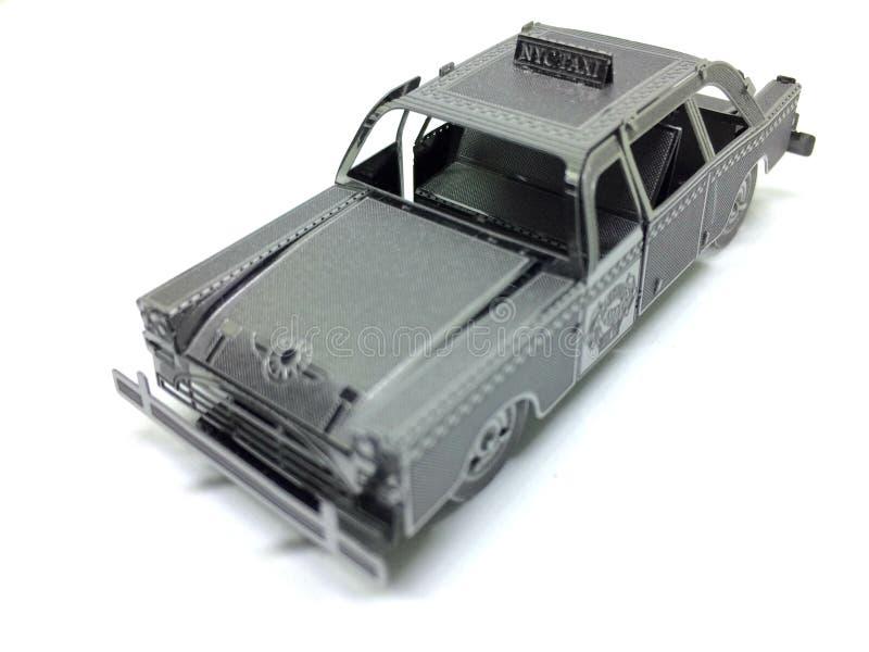 Het Model van de de Taxischaal van New York royalty-vrije stock foto