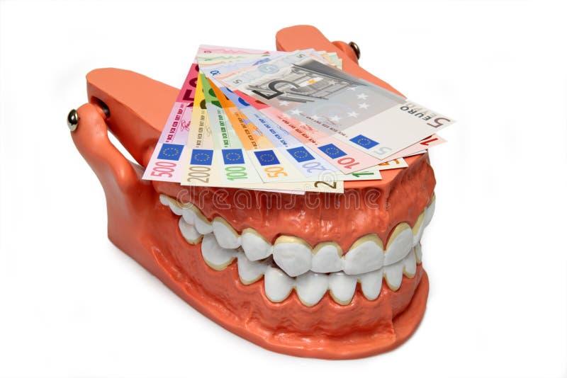 Het model van tanden royalty-vrije stock foto's