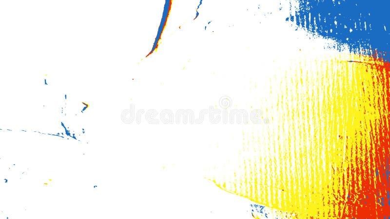 Het moderne digitale schilderen stock illustratie