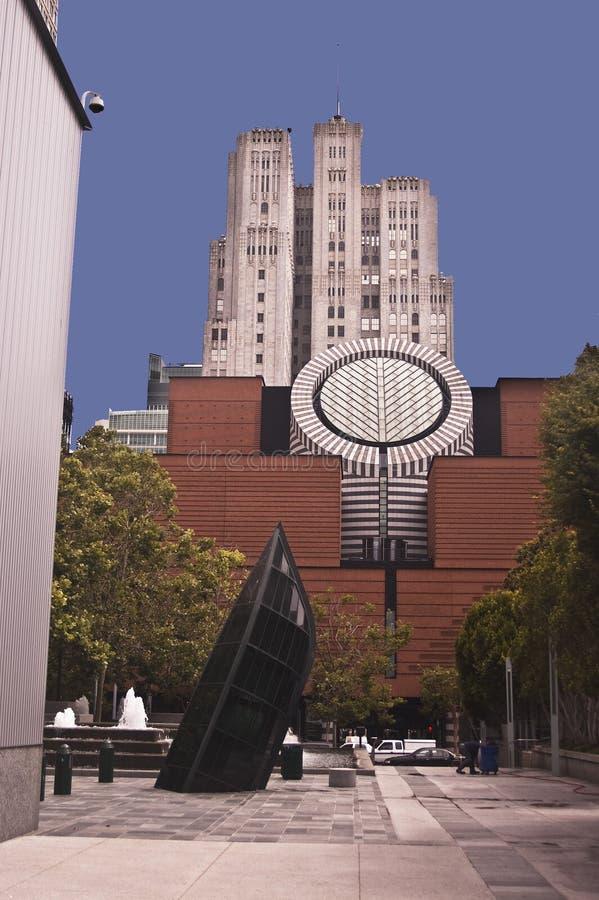 Het Moderne Museum van San Francisco van Art. royalty-vrije stock fotografie