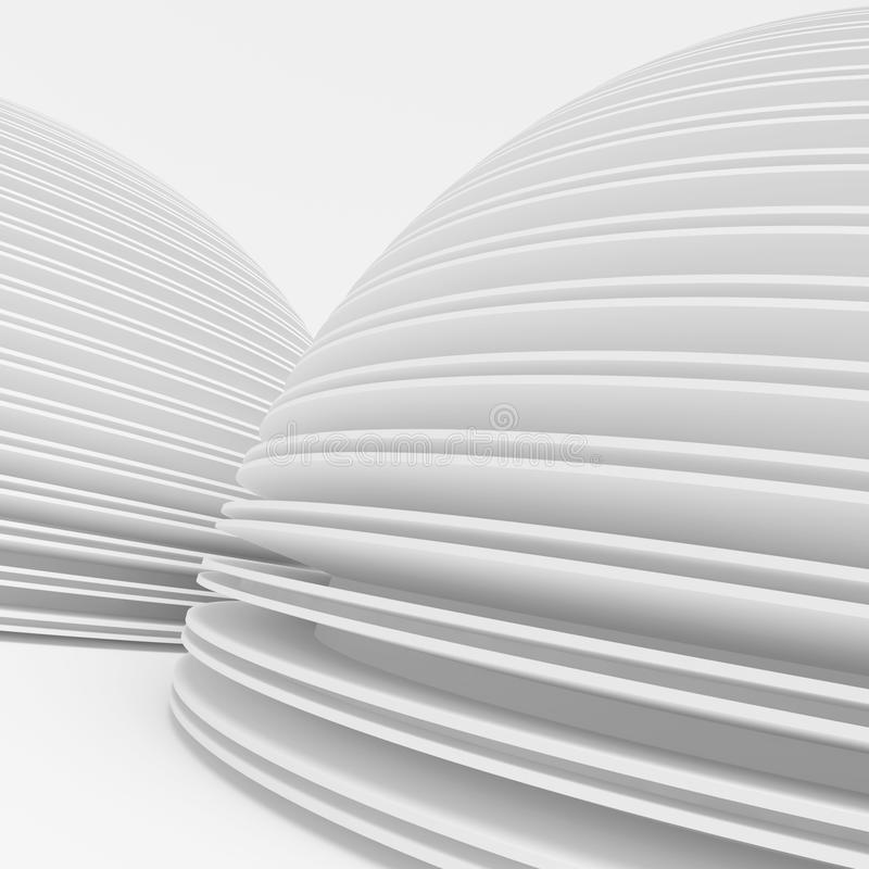 Het moderne Ontwerp van de Architectuur vector illustratie