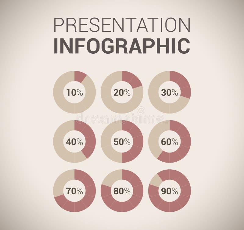 Download Het Moderne Zachte Malplaatje/infographics Van Het KleurenOntwerp Vector Illustratie - Illustratie bestaande uit gradatie, lijn: 29509043