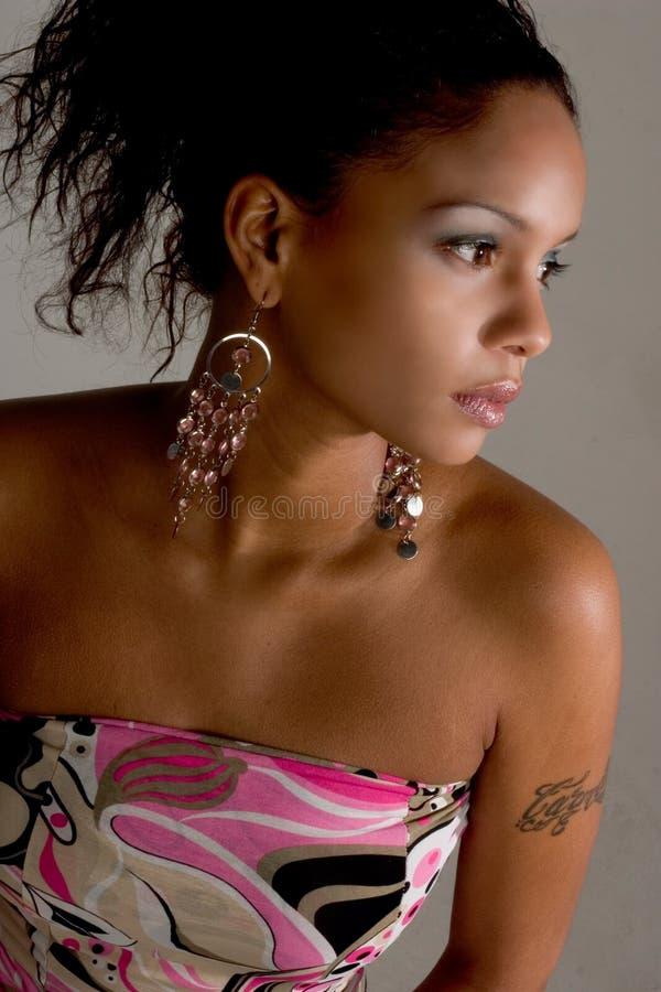 Het modieuze Meisje van de Partij royalty-vrije stock foto