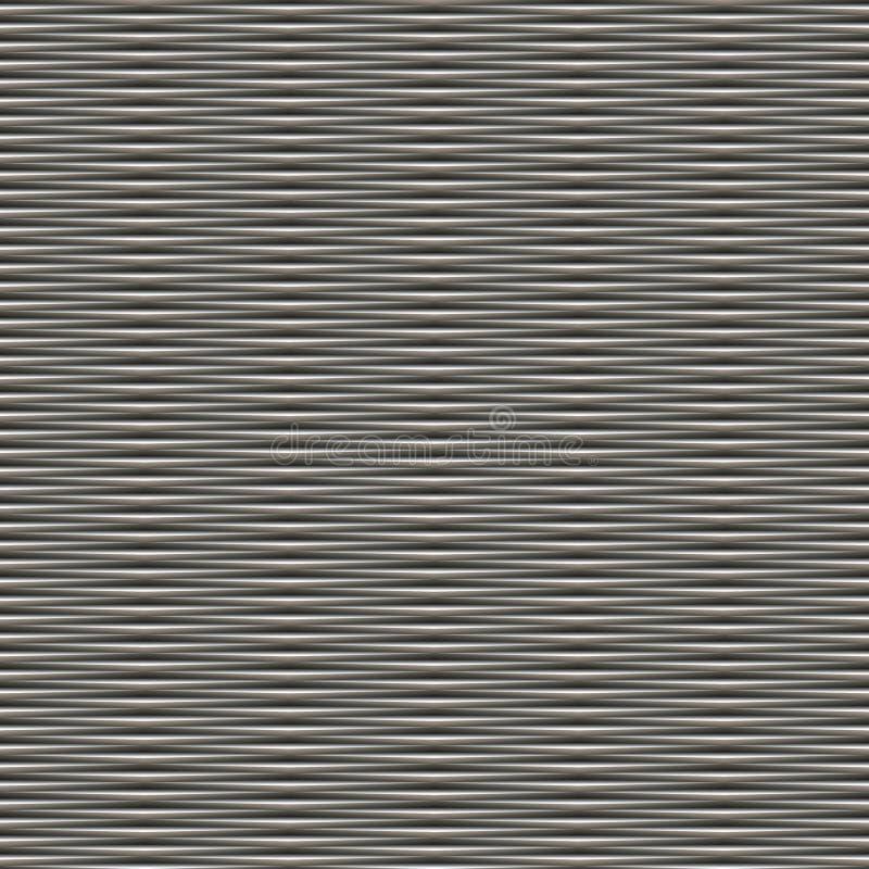 Het moiré van het het metaalnet van SL stock illustratie