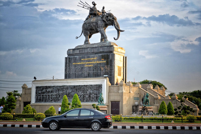 Het monument stock foto