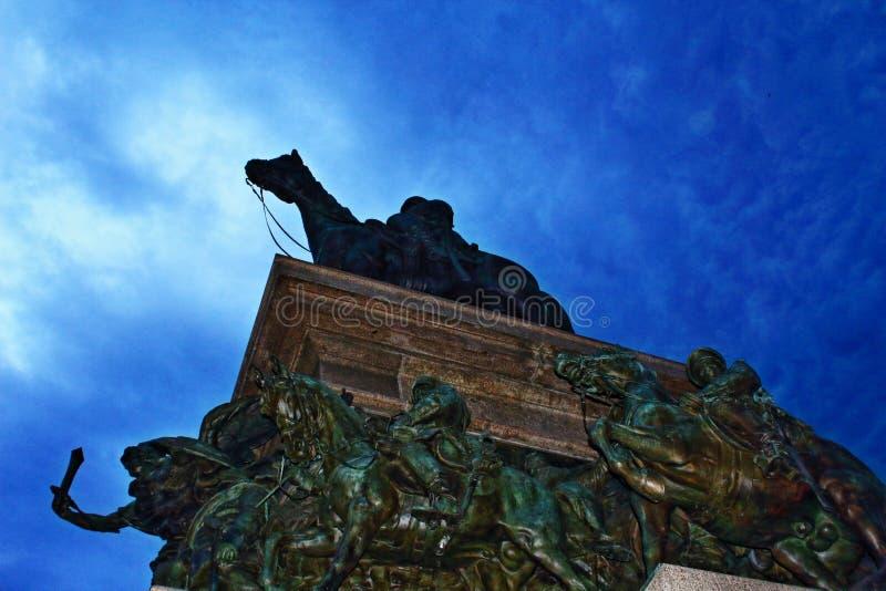 Het monument Bulgarije van Sofia royalty-vrije stock foto's