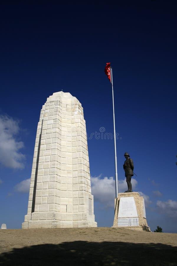 Het Monument Conkbayiri van Canakkale royalty-vrije stock foto's