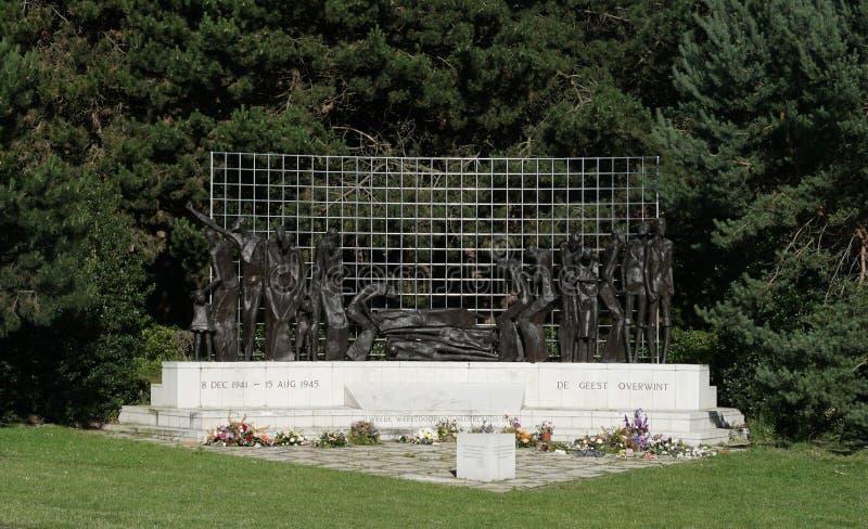 Het monument van Brits-Indië in Den Haag royalty-vrije stock fotografie