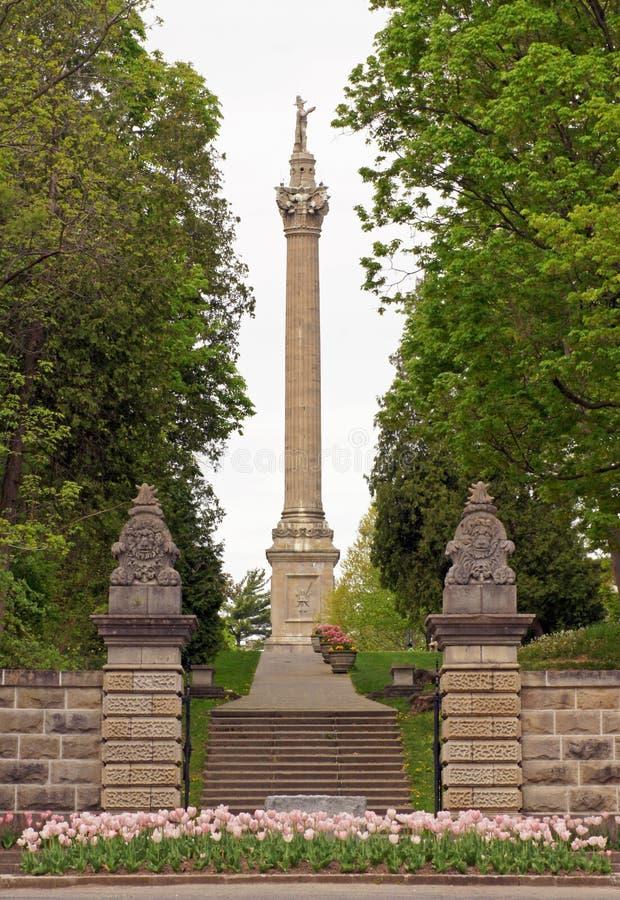 Het Monument van Brock stock fotografie
