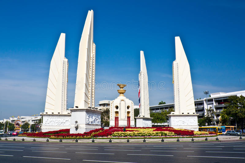 Het monument van de democratie royalty-vrije stock afbeelding