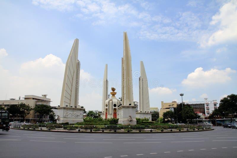 Het monument van de democratie in Bangkok royalty-vrije stock foto