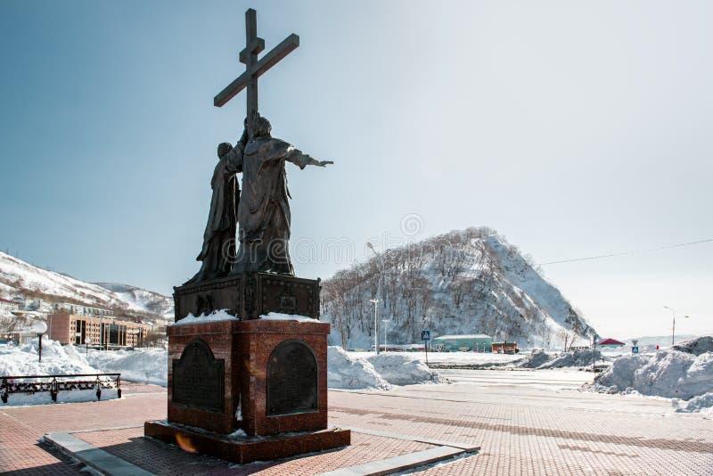 Het monument van de heilige apostelen Peter en Paul royalty-vrije stock fotografie