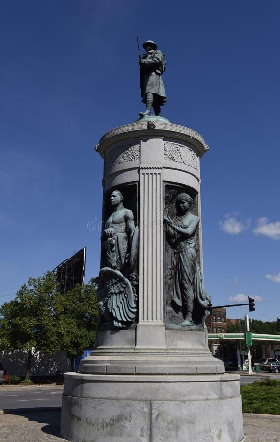 Het Monument van de overwinning stock afbeeldingen